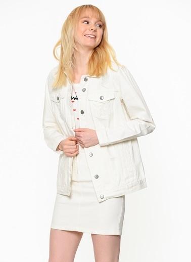 Only Jean Ceket Beyaz